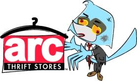 Zombie Arcky with logo